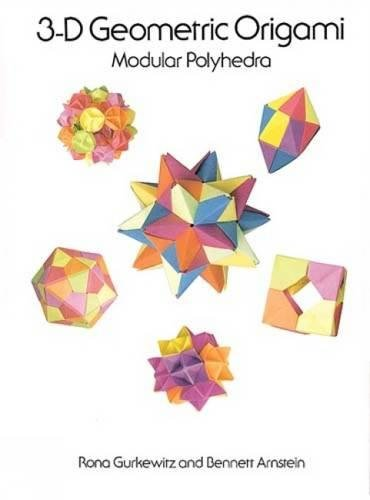 3-D Geometric Origami: Modular Polyhedra