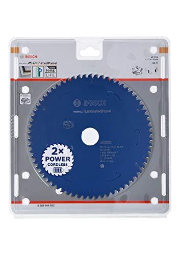 Bosch Professional Cirkelzaagblad Expert for Laminated Panel (spaanplaat, 216 x 30 x 2,1 mm, 66 tanden, accessoire accu-cirkelzaag)