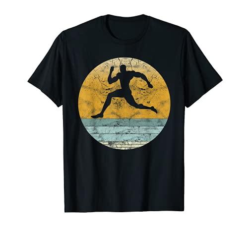 Retro Sprinter Estilo Vintage Running Deporte para hombres y mujeres Camiseta