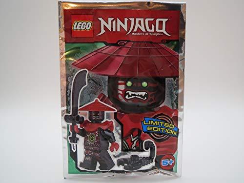 LEGO Ninjago Figur Steinschwertkämpfer mit Säbel und Skorpion