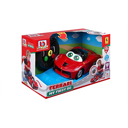 Bauer Spielwaren 16-91002 Ferrari LaFerrari - My First RC Spielzeugauto mit Fernsteuerung, Rot