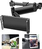 Zommuei Soporte Tablet Coche, Soporte Reposacabezas Asiento Trasero para automóvil Soporte de Montaje Extensible para iPad Air Mini 2 3 4, Pad 2018 Pro 9.7, 10.5, Tableta de 4.6in - 12.9in
