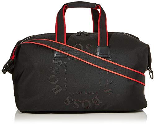 BOSS 50418659 Men's Shoulder Bag, Black, 27x28x52 centimeters (B x H x T)
