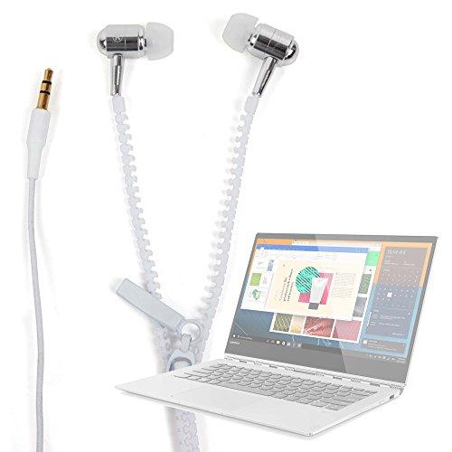 DURAGADGET Innovadores Auriculares con Cremallera para Portátil Lenovo Yoga 920 - ¡Irá A La Última!