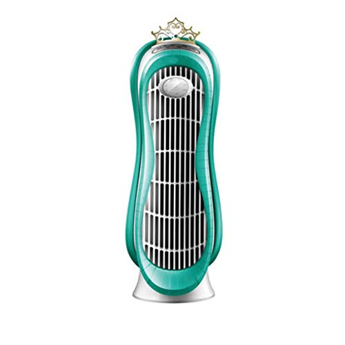 Tower fan Turm-Ventilatoren , Haushaltslüfter, Geräuschlos 24-Stunden-Regelung 12 Stunden Takt Standventilatoren, 50CM, Grün