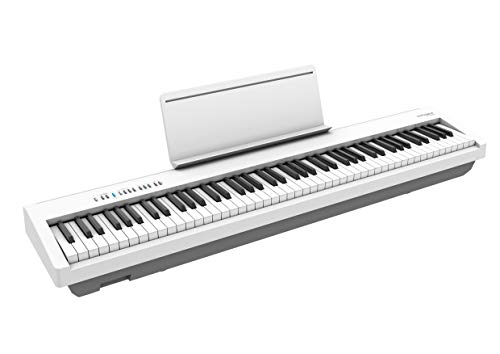 Roland FP-30X Digital Piano with Built-in Powerful Amplifier and Stereo Speakers. Rich Tone and Authentic Ivory 88-Note PHA-4 Keyboard for unrivalled Acoustic Feel and Sound. (FP-30X-WH)