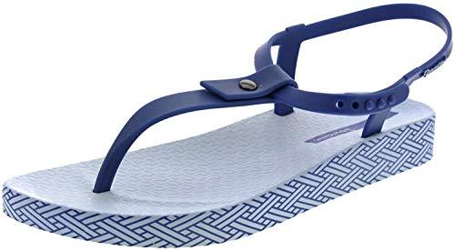 Ipanema Bossa Soft Sandal, Sandalias con Tira de T Mujer, Blau (Blue/Blue 8330), 41/42 EU