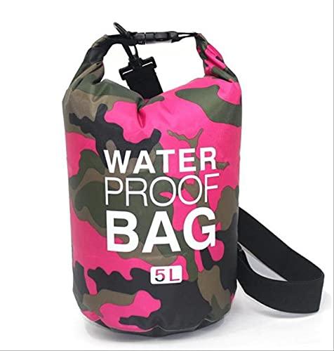 2l 5l 10l Sports Waterproof Ocean Pack PVC Dry Bag Bolsa Seca Impermeable Al Aire Libre para La Deriva, La Navegación, El Senderismo, El Camping Y La Pesca