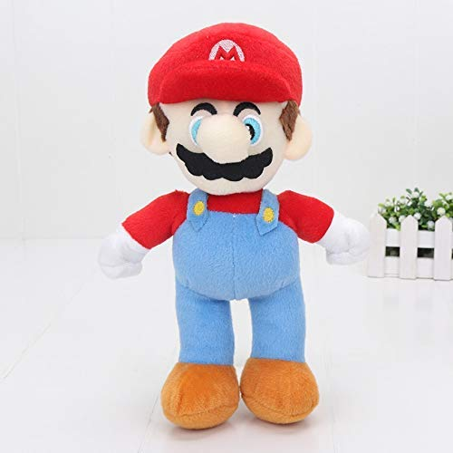 feilongzaitian Stuffed Toy Classic Game Characters Plush Dolls Super Mario & Luigi Yoshi Mario Maker