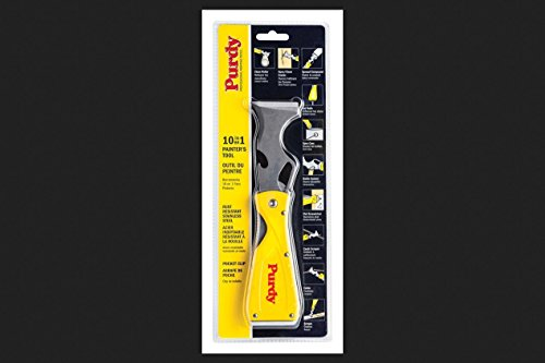PURDY 140900600 10-in-1 Folding Stainless Steel Painter's Tool, 1-3/4-inches