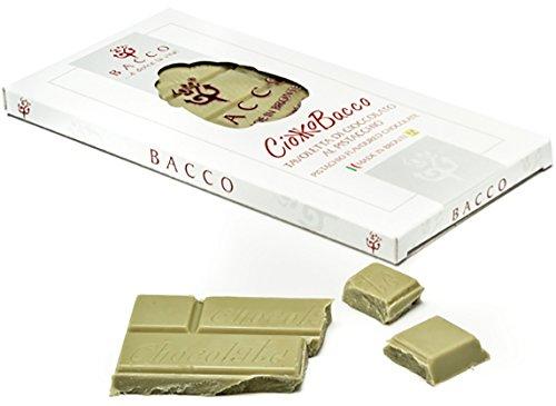 Ciokkobacco - tavoletta di cioccolato al pistacchio Bacco by Nelson Sicily