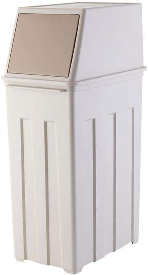 XDYNJYNL Shatter-Resistant Nordic New products world's highest quality half popular Style Simple Trash S Can Large