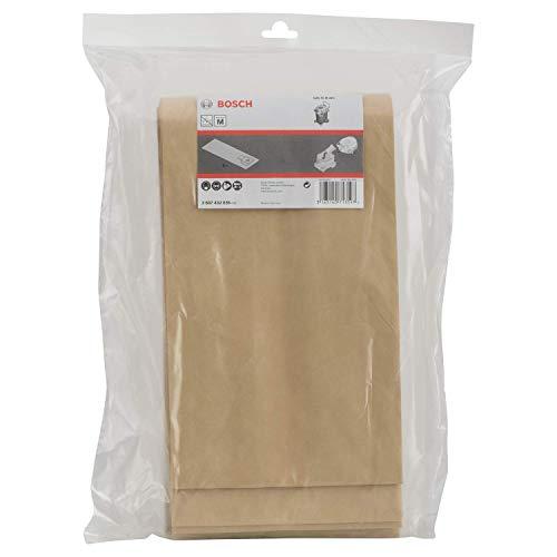 Bosch Professional Papier Staubsauger Beutel (5 Stück, für GAS 55, in Plastikhülle)