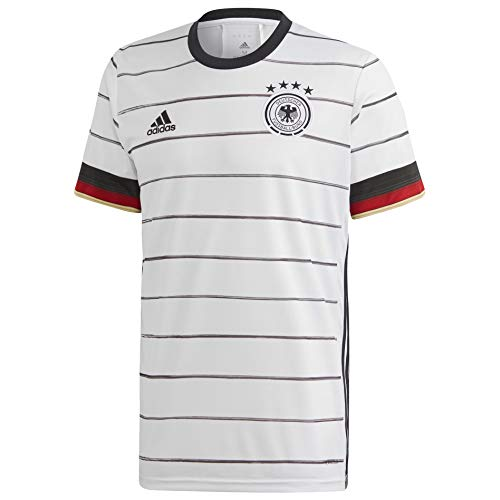 adidas 2020-21 Germany Home Jersey - White-Black 2XL