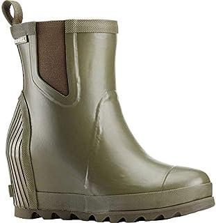[ソレル] レディース ブーツ&レインブーツ Joan Rain Wedge Chelsea Boot [並行輸入品]