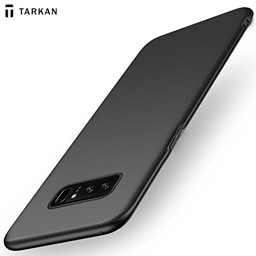 904934acb51 Tarkan Slim Flexible Soft Back Case Cover For Samsung Galaxy Note 8 (Matte  Black)