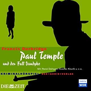 Paul Temple und der Fall Vandyke Titelbild