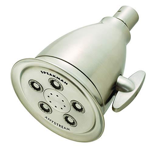 Speakman S-2005-HBBNE175 Hotel Anystream Multi-Function Adjustable Shower Head, 1.75 GPM, Brushed Nickel