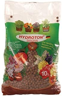 Hydroton GMHT10L Hydroponic Grow Rocks, 10 Liter Bag (Discontinued by, 10-Liter, Brown