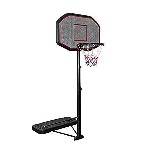 Display4top Red de Baloncesto portátil Ajustable 200-305cm con Ruedas