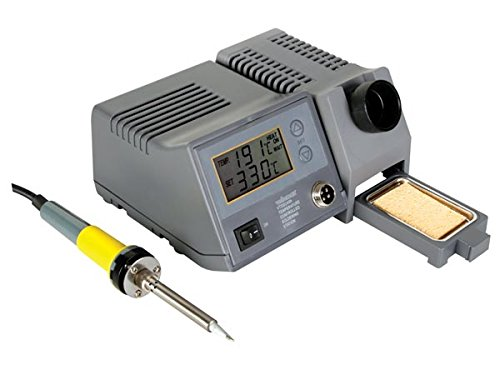 Velleman VTSSC40N Soldering Station with LCD Display and Ceramic Heater, Multi-Colour, 48 W