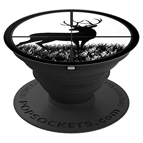 Deer Hunting Crosshair PopSockets Grip PopSockets Grip and Stand for Phones and Tablets