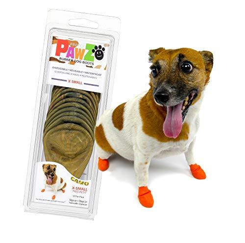Protex PawZ PZCMXS Camo Dog Boots Hundestiefel, XS