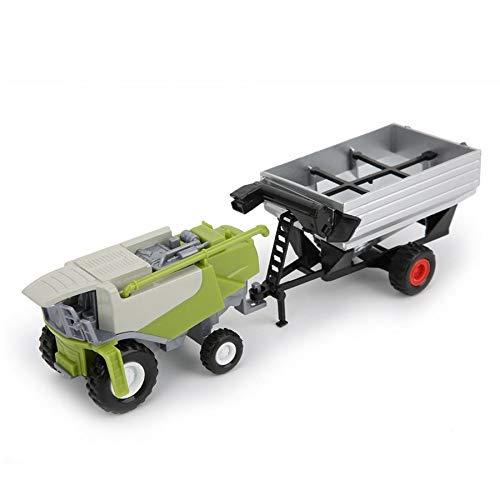 NXCY01 Granja clásica del Coche del vehículo de Remolque agrícola Harvester cisternas de Transporte Camión Tractor Modelo Juguetes for niños Muchacho Oyuncak Regalo (Color : 3)