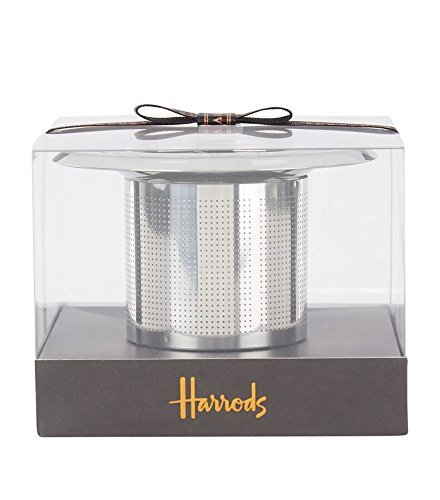 Preisvergleich Produktbild HARRODS - Harrods Top Hat Tea Strainer / TEESIEB - Edelstahl