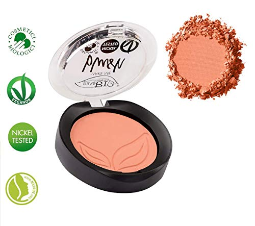 Blush Compatto Rosa Corallo Matte