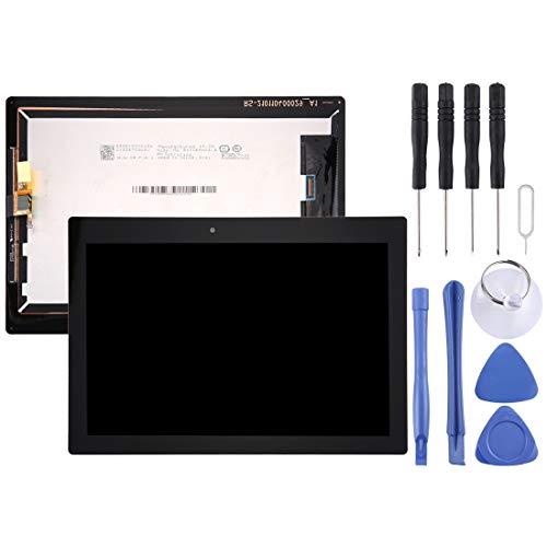 un known Reparación renovación por Teléfono Pantalla LCD y Montaje Completo de digitalizador para Lenovo Tab 2 A10-30 / TB2-X30F Accesorio (Color : Black)