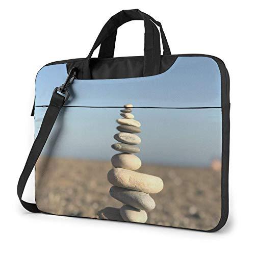 Pebble Laptop Bag Messenger Bag Maletín Satchel Hombro Crossbody Sling Bolsa de Trabajo