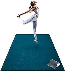 Premium Barefoot Exercise Mat (Yoga, Stretching)