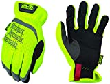Mechanix Wear: Hi-Viz FastFit Work Gloves (Medium, Hi-Viz Yellow)