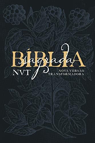 Bíblia NVT Letra Grande: Capa Soft Touch - Éden Azul