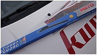 2 x Escobillas limpiaparabrisas flexibles de goma para coche