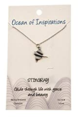 "UNIQUE MESSAGE: Each necklace comes with a special message card: ""Glide through life with grace and beauty"" REAL PEWTER: Made from 100% lead-free REAL PEWTER, this metal which has been used since the time of the ancient Egyptians, will ensure you obt..."