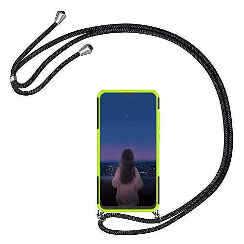 Kesv kompatibel mit Sony Xperia XA2 Plus Handyhülle mit Umhängeband, Handykordel mit Schutzhülle, Silikonhülle, Hülle mit Band, Stylische Kette mit Hülle Smartphone