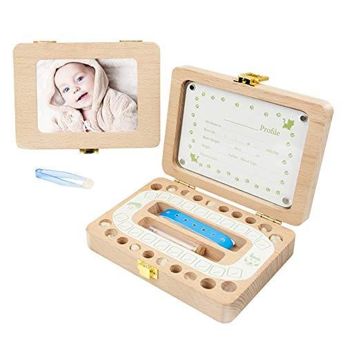 Babytanden Save Box baby theeth doos houten tanden bewaardoos kinderen thee bewaardoos cadeau