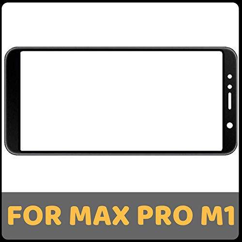 GADGETCARESOLUTIONS Touch Screen Digitizer Glass for ASUS Zenfone Max Pro M1 (Black)