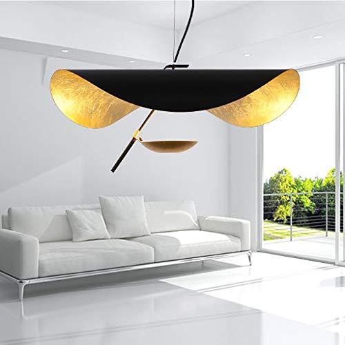 LED Pendelleuchte Nordic Eisen Hängeleuchte Modern Schmiedeeisen Einfachheit Pendellampe Esszimmer Hängelampe Metall Kronleuchter Wohnzimmer Deckenleuchte Küche Lampe Arbeitszimmer Beleuchtung