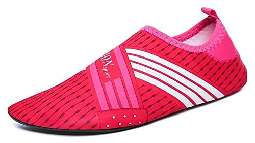 scarpe da spiaggia Scarpe da uomo e sportive da donna scarpe da spiaggia scarpe da acqua a piedi nudi scarpe morbide River Viaggi antiscivolo scarpe da nuoto da immersione snorkeling fitness yoga scar