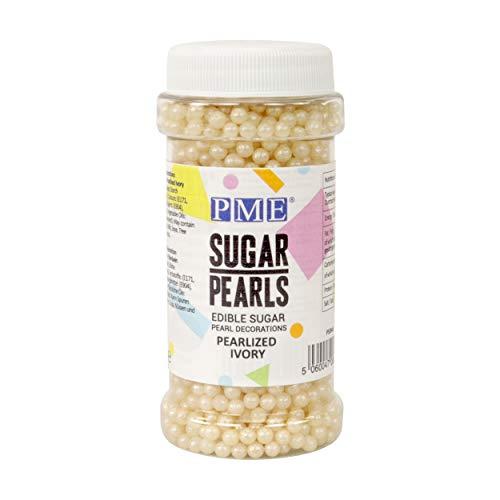 Perlas de Azúcar PME Marfil de Perla 100 g