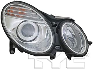 CarLights360: Fits 2006 2007 2008 2009 Mercedes-Benz E350 Headlight Assembly Passenger Side (Right) NSF Certified w/Bulbs - Replacement for MB2501100 (Vehicle Trim: Sedan)