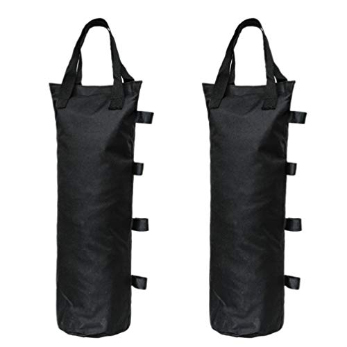 CLISPEED 2 Piezas Bolsas de Peso con Dosel Dosel Bolsas de Arena para Carpa para Exteriores Instantáneo Refugio Solar Patas de Dosel Patio Sombrilla Muebles de Exterior
