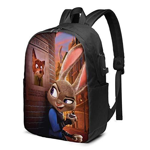 Zoot-Opia Laptop-Rucksack, Business-Reiserucksack für Damen und Herren, Schulrucksack, cool, leicht, 43,2 cm (17 Zoll) Gr. One size, Zoot-opia 2