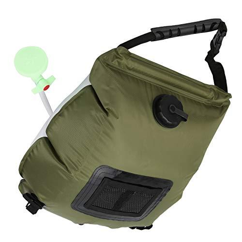 A sixx Conveniente Bolsa de Ducha para Acampar, Bolsa de Ducha no tóxica, portátil Plegable para Ducha al Aire Libre