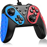 BEBONCOOL Wired Gaming Controller,USB Wired Gaming Controller Gamepad with Dual Turbo Vibration