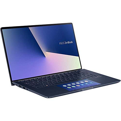 ASUS Computer ZenBook13UX334FA mit Screenpad 2.0 (90NB0MX1-M00410) 33,7 cm (13,3 Zoll, Full HD) Ultrabook (Intel Core i5-10210U, Intel UHD-Grafik 620, 8GB RAM, 512GB SSD, Windows 10) royal blue