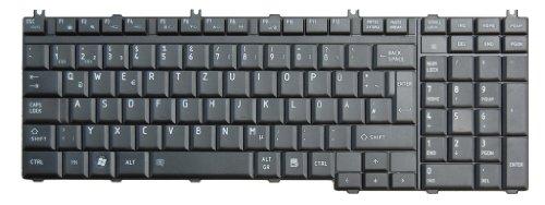 Original Tastatur Toshiba Satellite L350D Series DE Neu Matt